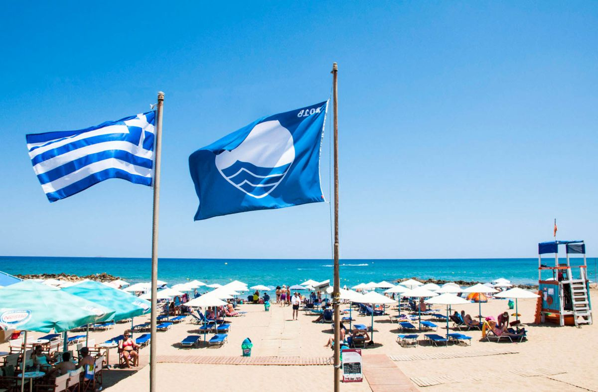 Rhodes beaches have been awarded 39 blue flags in 2019