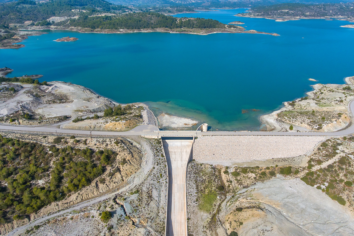 Gadouras Dam: solving the important and crucial water supply problems of the wider Rhodes urban area