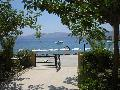 Rhodes Greece Hotels, Haraki Mare: VIEW FROM THE FRONT FULL SEA VIEW BUILDING
