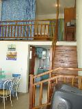 Haraki Mare- SUPERIOR GROUND FLOOR APART 1-5 P. Upstairs is the double bed with a wardrobe
