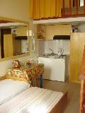 Haraki Mare- ground floor open beds (if you want) two singles beds nr 13