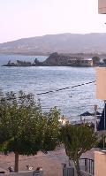Rhodes Greece Hotels, Haraki Mare: VIEW FROM THE STANDARD FIRST FLOOR ROOMS TO ARGO RESTAURANT!