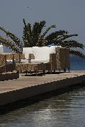 Rhodes Greece Hotels, The Ixian Grand: Milonges on the Deck