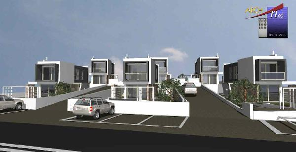 Rural Maisonettes along Gennadi-Lachania beach of 85sq.m