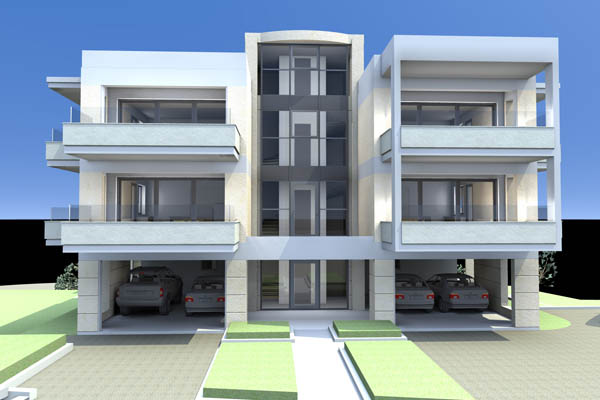 Apartments of 60sq.m with garden in Panorama Ilioupolis.