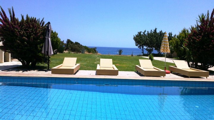 Beachfront Comfort Villa for Sale in South Rhodes