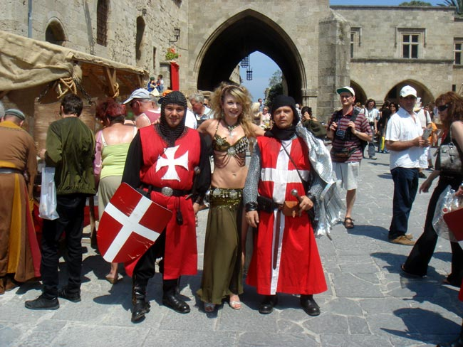 The Medieval Rose Festival