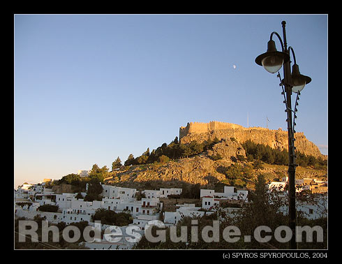Lindos, Rhodes Greece.