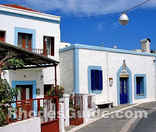 Theologos (Tholos) village, Rhodes