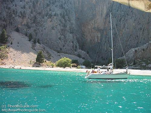 Kolymbia beach, Rhodes Greece