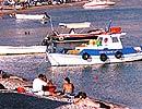 Haraki (Charaki), the beach