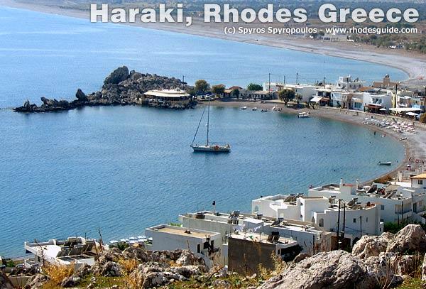 Haraki (Charaki), Rhodes Greece.