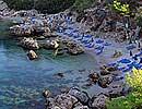 Anthony Quinn bay, Rhodes Greece.
