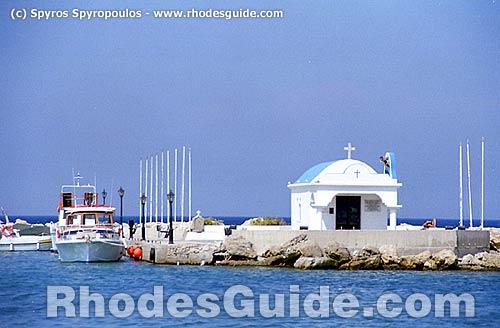 Faliraki Beach, Rhodes, Greece