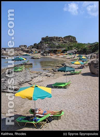 Kallithea (Kalithea) beach, Rhodes