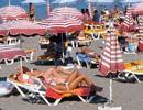 Elli beach, Rhodes Greece