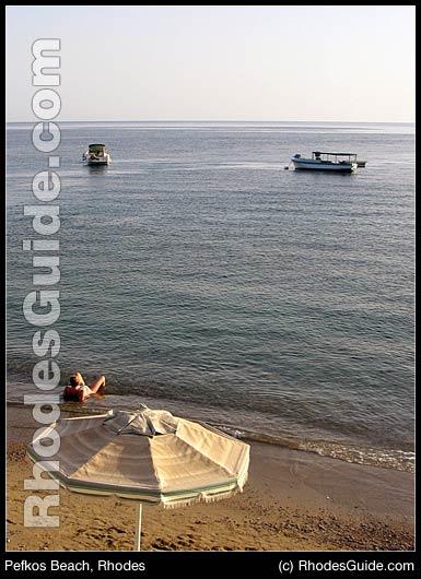 Pefkos Beach, Rhodes