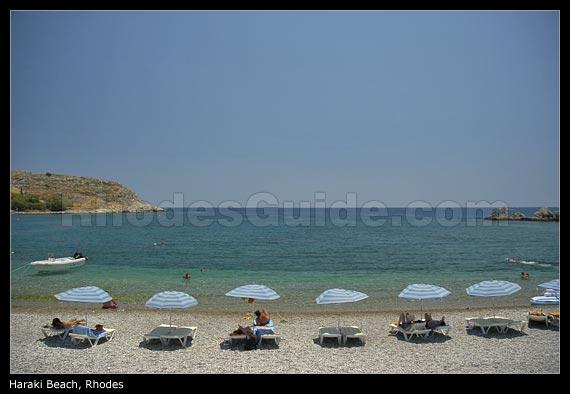 Haraki (Charaki) Beach, Rhodes