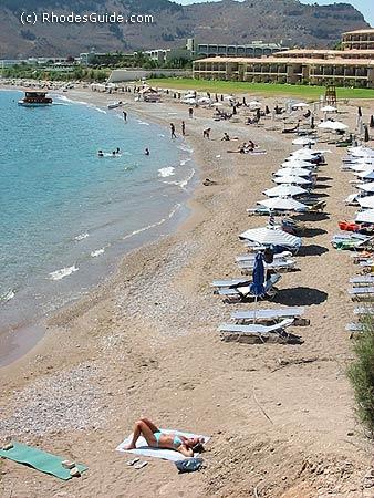 Kolimbia beach, Rhodes Greece