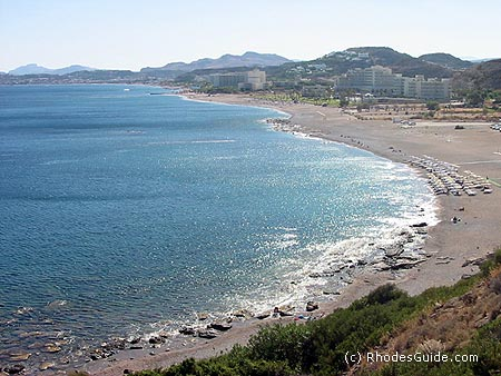 Faliraki beach, Rhodes Greece