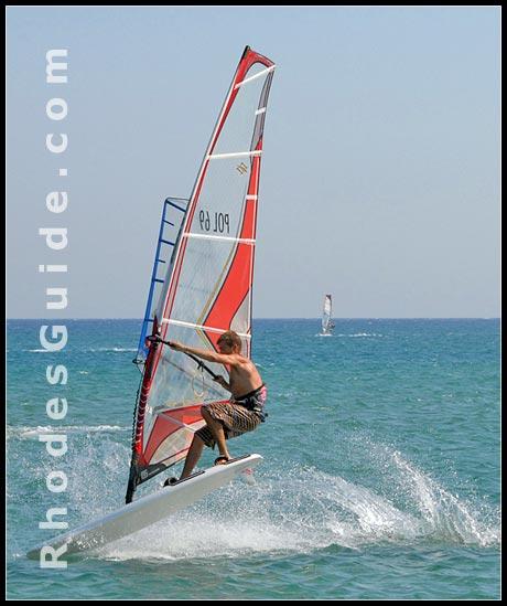 Prasonisi Beach, Rhodes Greece