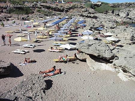 Kalithea beach, Rhodes Greece
