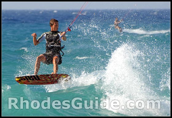 Ixia Bay, watersports