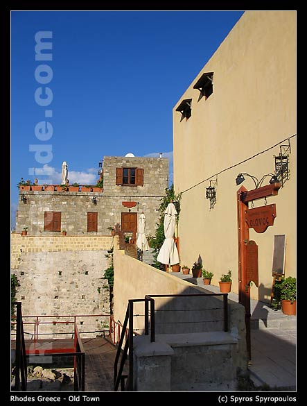 Rhodes Greece, Old Town (Medieval City)