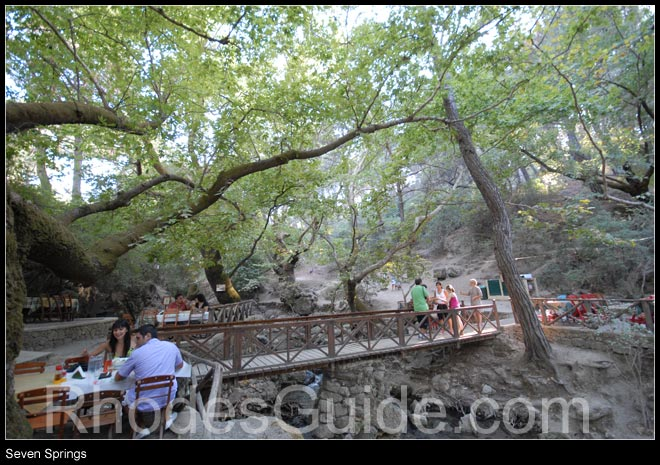 Rhodes Greece photo gallery: Seven Springs (Epta Piges), Rhodes Greece