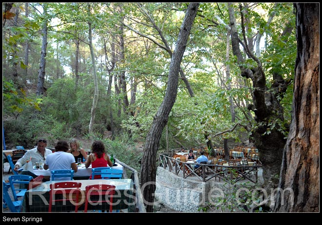 Rhodes Greece photo gallery: Seven Springs (Epta Piges), Rhodes Greece