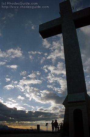 Filerimos, the Cross