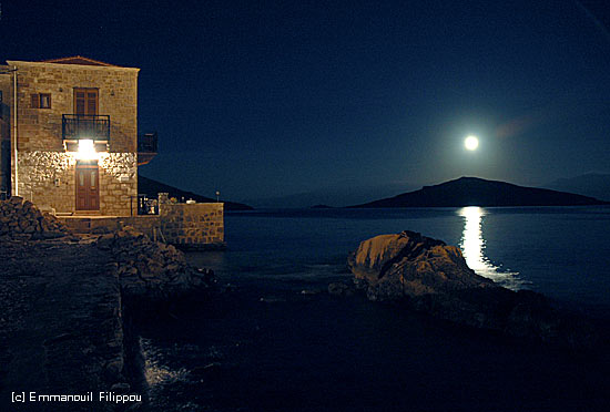 Halki at night