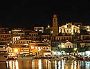 Rhodes Greece photo gallery: Halki at night