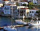 Halki, harbour entrance