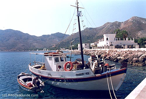 Tilos, the harbour