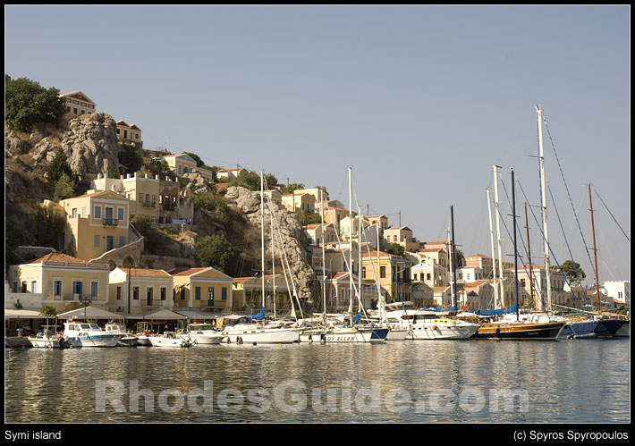 Rhodes Greece photo gallery: Symi island