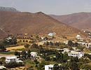 Astipalea, Dodecanese islands, Greece. Village of Livadia.