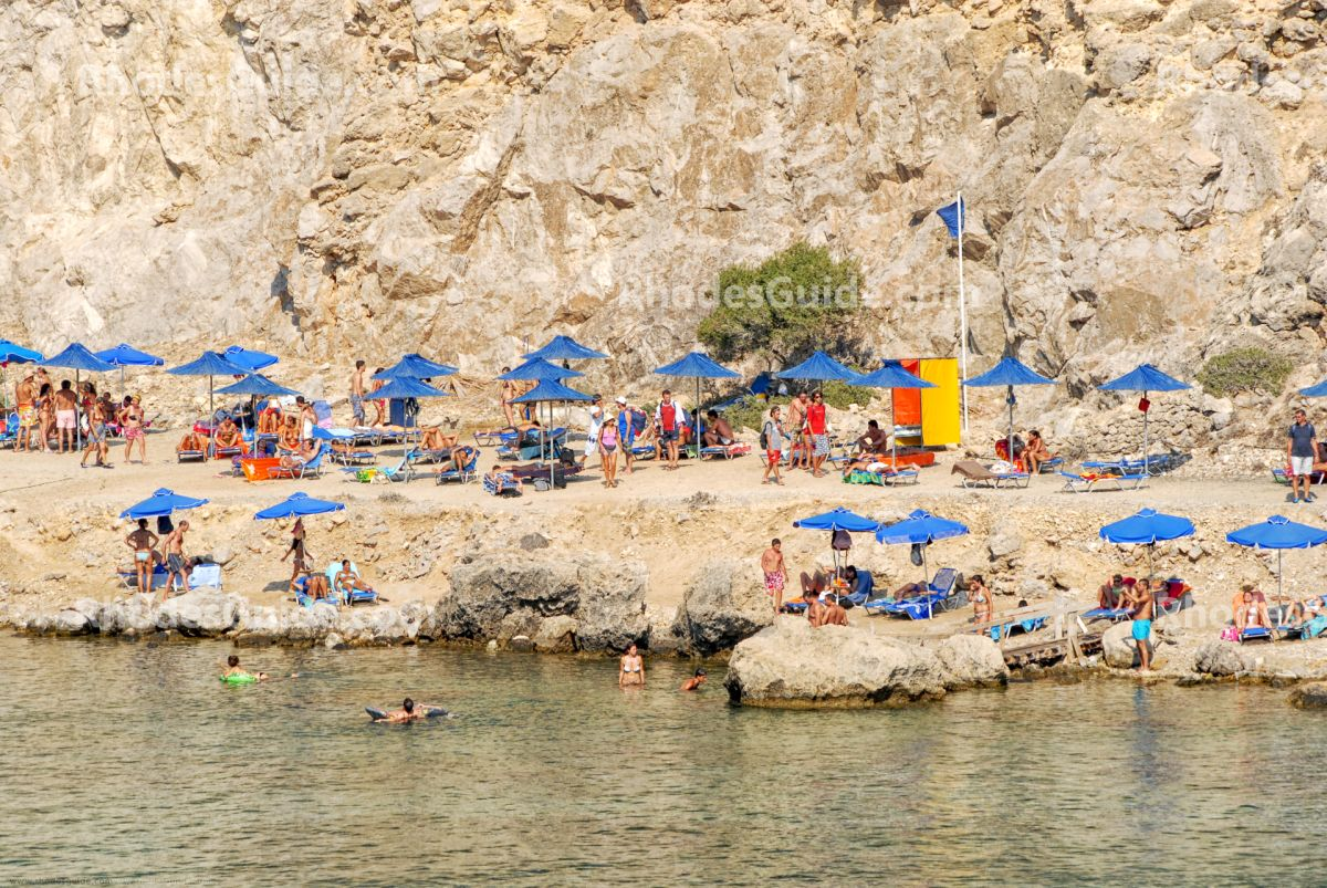 Anthony Quinn Bay © Rhodes Guide / RhodesGuide.com