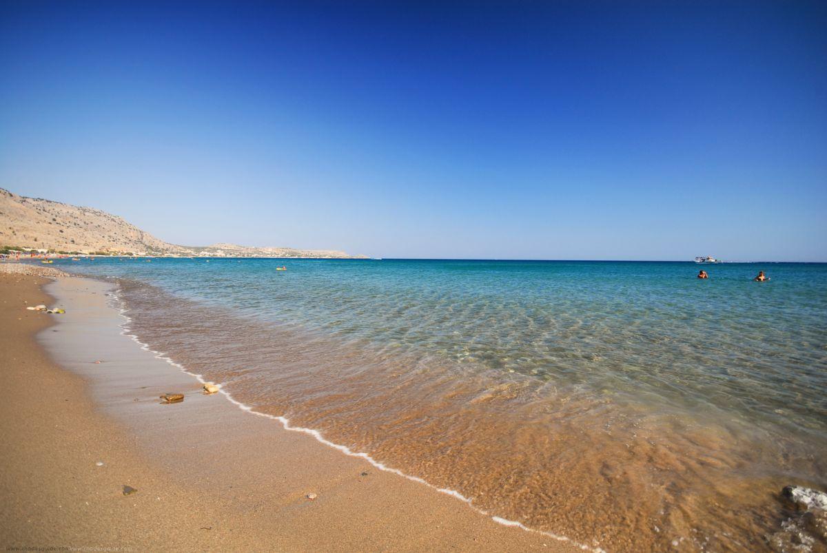 Lardos Beach © Rhodes Guide / RhodesGuide.com
