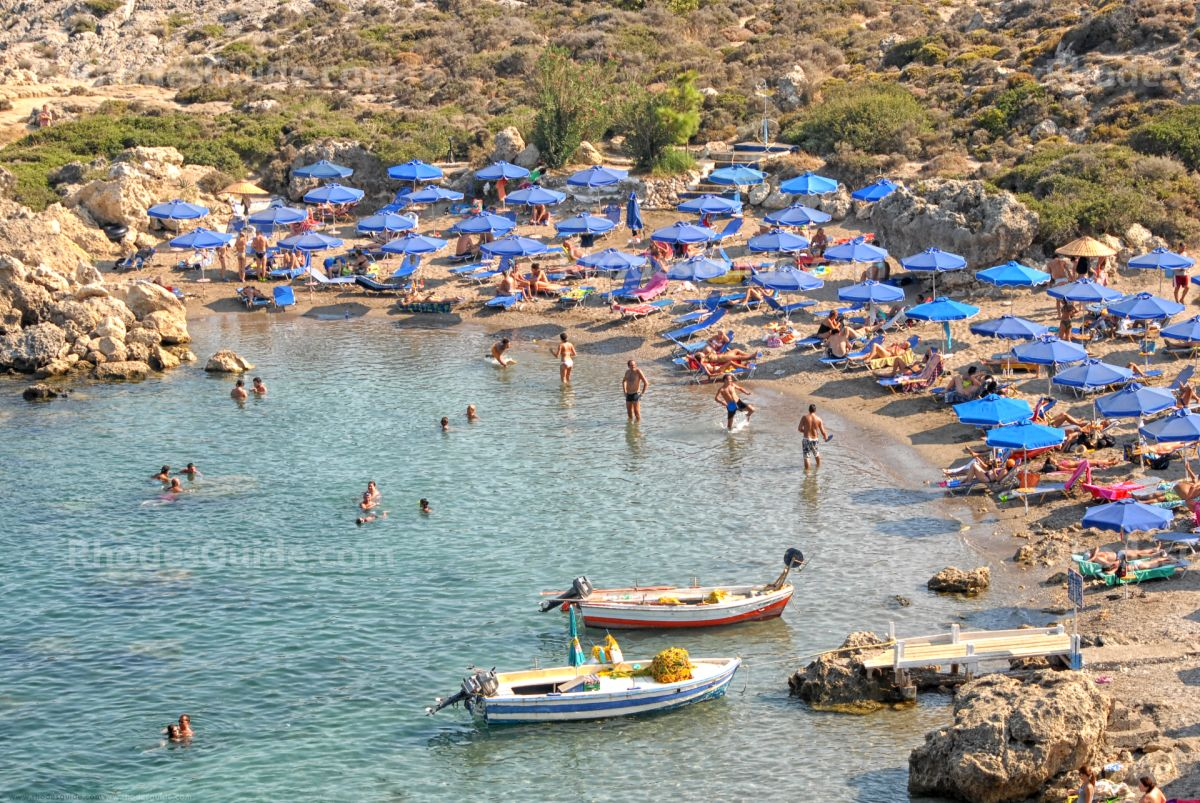 Ladiko Beach © Rhodes Guide / RhodesGuide.com