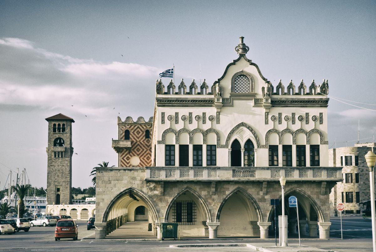 Governor's Palace © Rhodes Guide / RhodesGuide.com