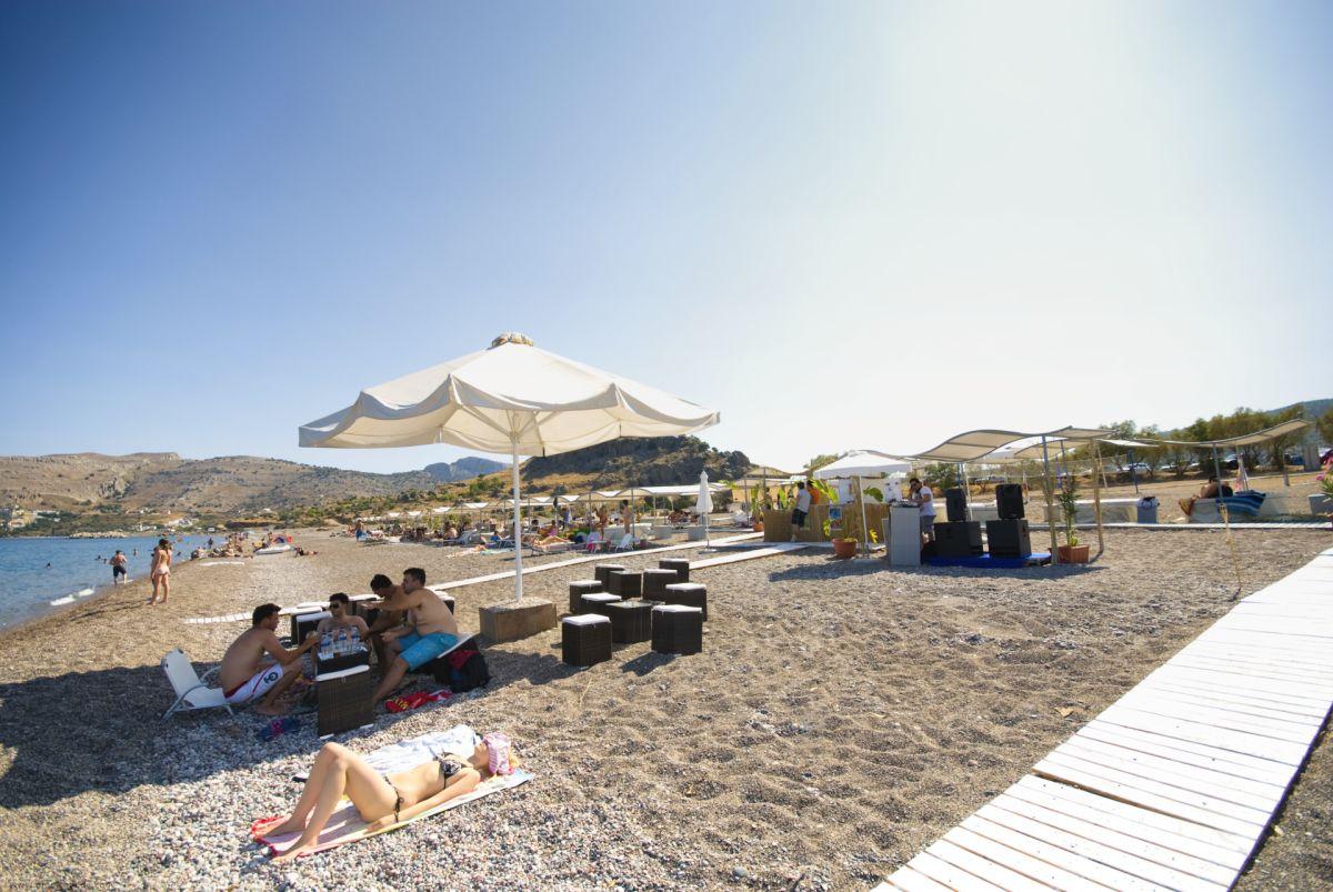 Kalathos Beach © Rhodes Guide / RhodesGuide.com