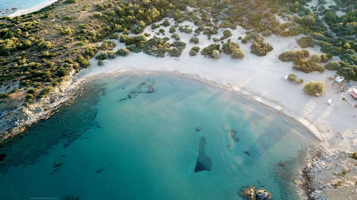 Glystra (Glistra) Beach © Rhodes Guide / RhodesGuide.com