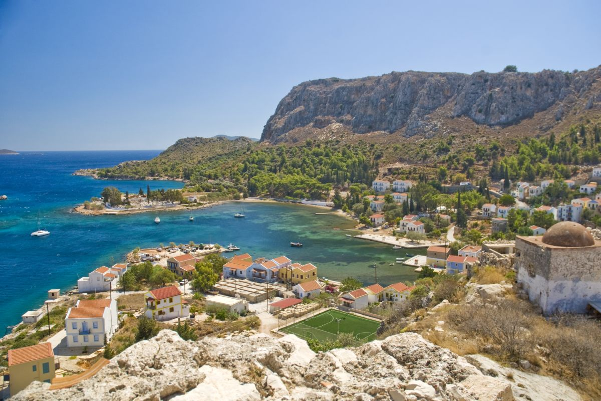 The Dodecanese islands - a Greek island hopping paradise © Rhodes Guide / RhodesGuide.com