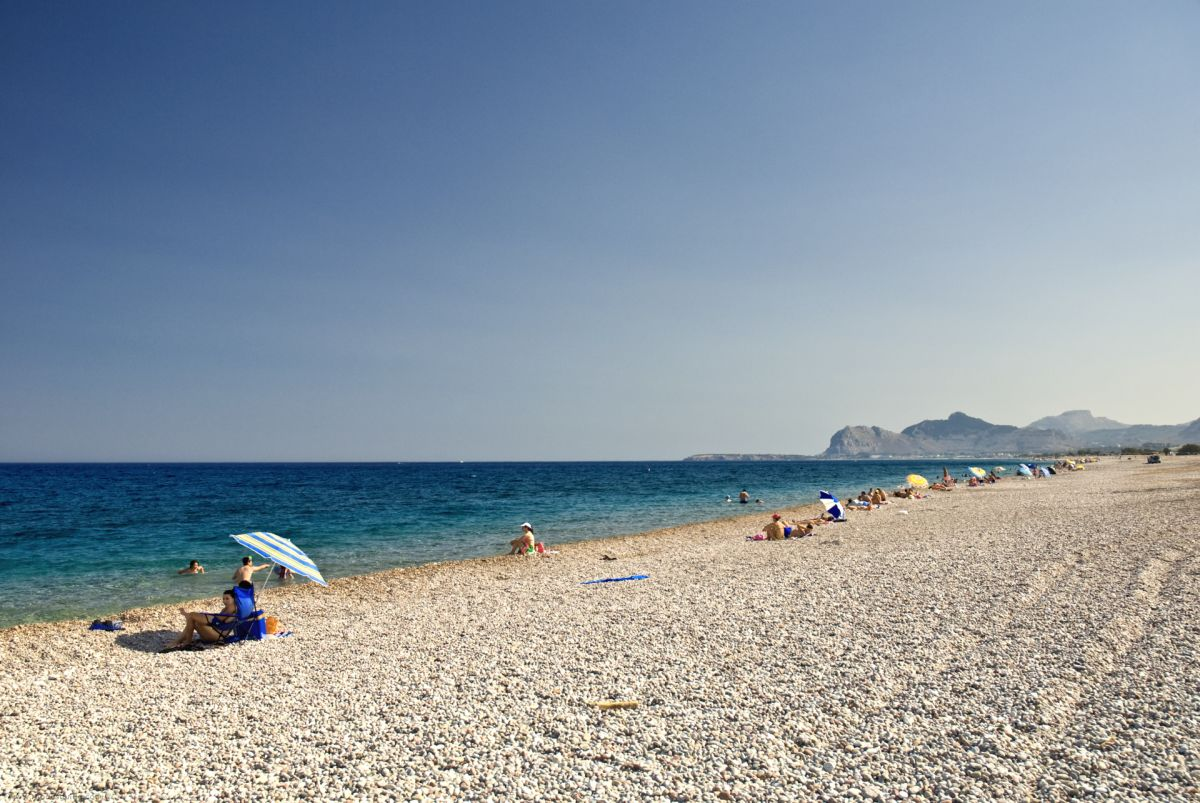 Afandou Beach (Afantou) © Rhodes Guide / RhodesGuide.com
