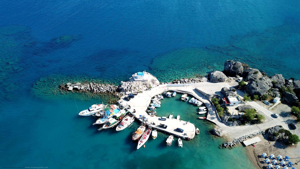 Kolymbia (Kolympia) © Rhodes Guide / Spyros Spyropoulos
