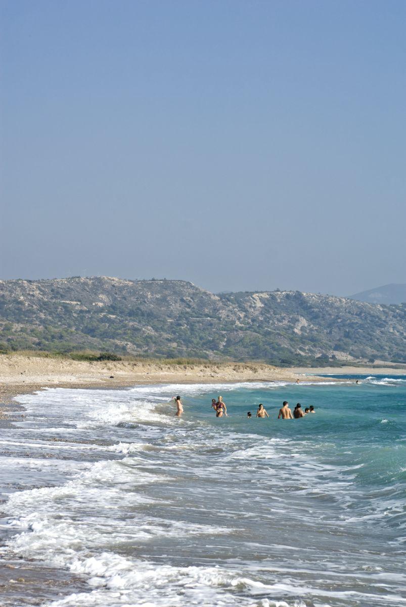 Limni (Apolakkia) Beach © Rhodes Guide / RhodesGuide.com