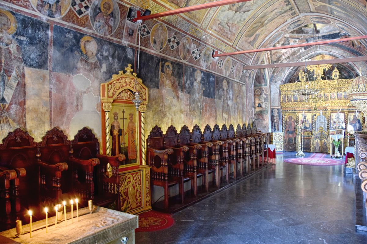 Tharri Monastery © Rhodes Guide / RhodesGuide.com