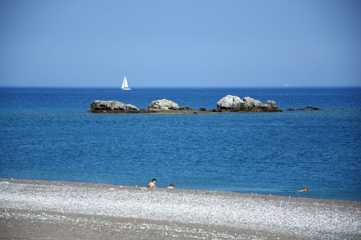 Kiotari Beach © Rhodes Guide / RhodesGuide.com
