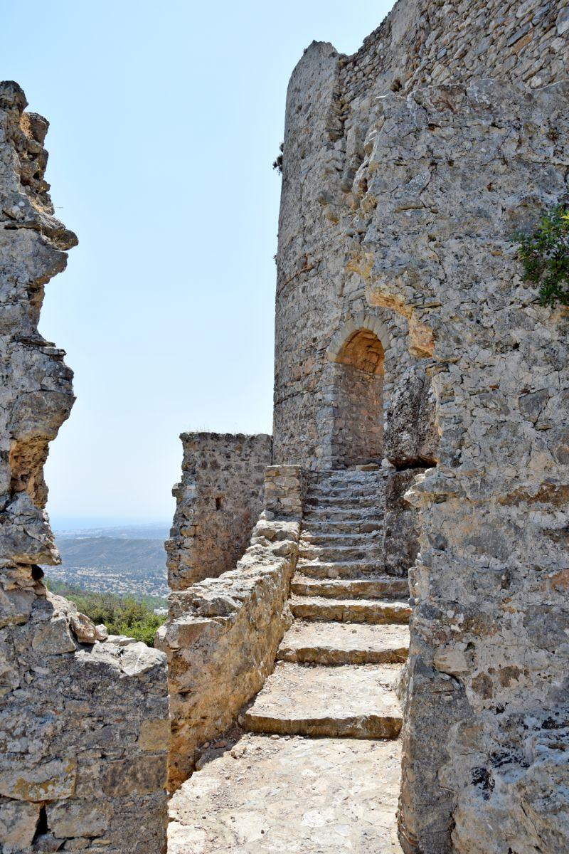 Asklipio (Asklepieion) Medieval Fort © Rhodes Guide / RhodesGuide.com
